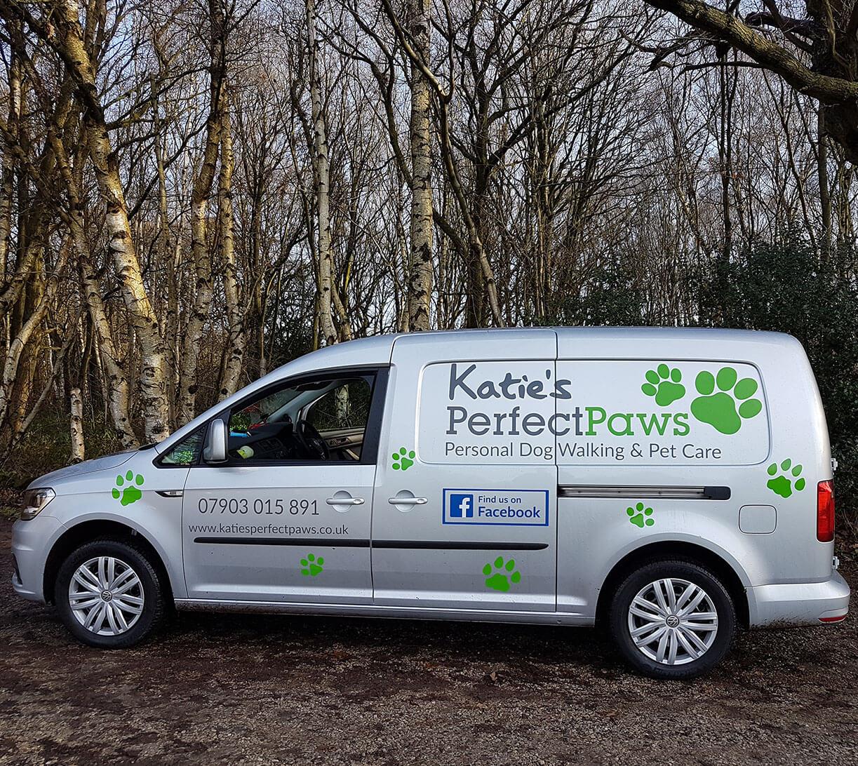 Katies Perfect Paw Van